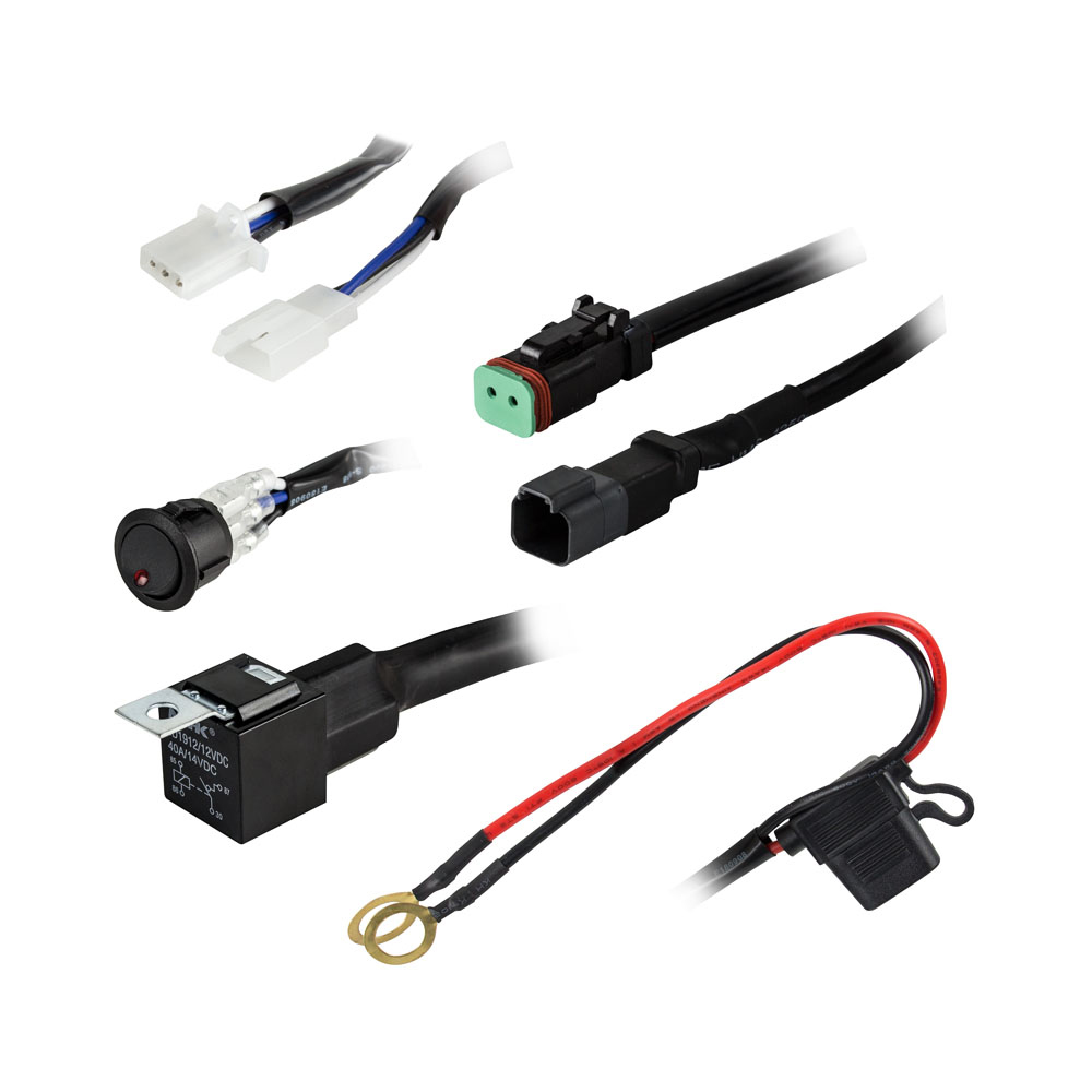 Heise 1 Lamp DR Wiring Harness & Switch Kit - HE-SLWH1 | Anchor ExpressAnchor Express