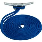 Sea-Dog Double Braided Nylon Dock Line - 3/8 inch x 25' - Blue - 302110025BL-1