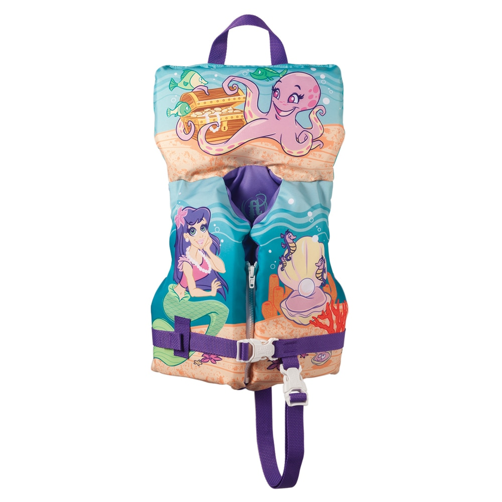Full Throttle Character Vest - Infant/Child up to 50lbs - Mermaid - 104200-505-000-14