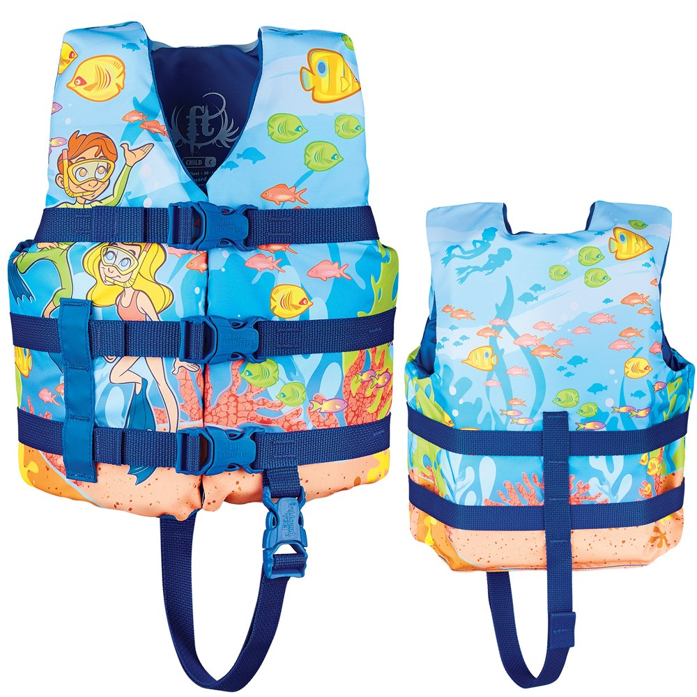 Full Throttle Character Life Vest - Child 30-50lbs - Snorkle - 104200-500-001-15