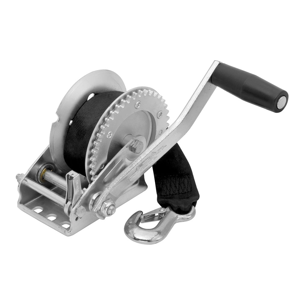 Fulton 1500lb Single Speed Winch with 20' Strap Included - 142203