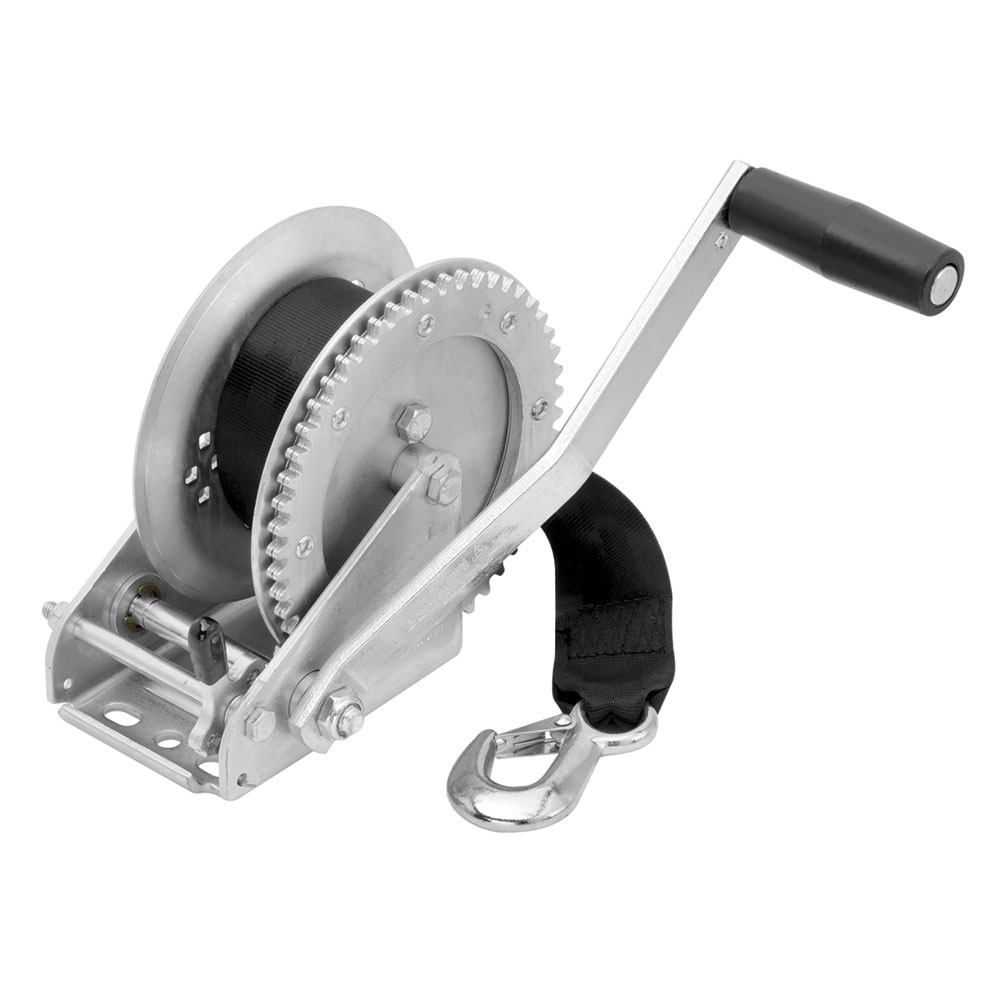 Fulton 1800lb Single Speed Winch with 20' Strap Included - 142305