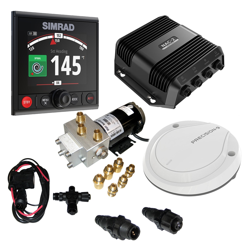 Simrad AP44 VRF Medium Capacity Pack - AP44, NAC-2, Precision 9 & RPU80 - 000-13291-001