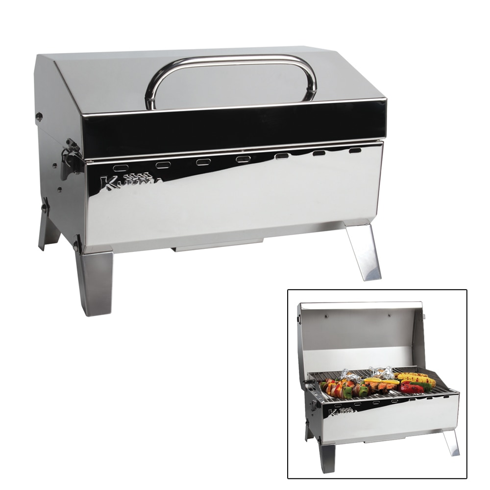 Kuuma Stow N' Go 125 Gas Grill - 9,000BTU with Regulator - 58140