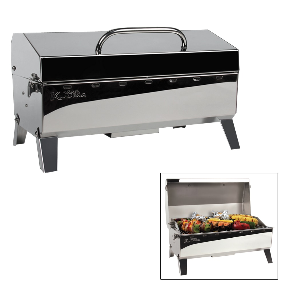 Kuuma Stow N' Go 160 Gas Grill - 13,000BTU with Regulator, Thermometer and Igniter - 58131