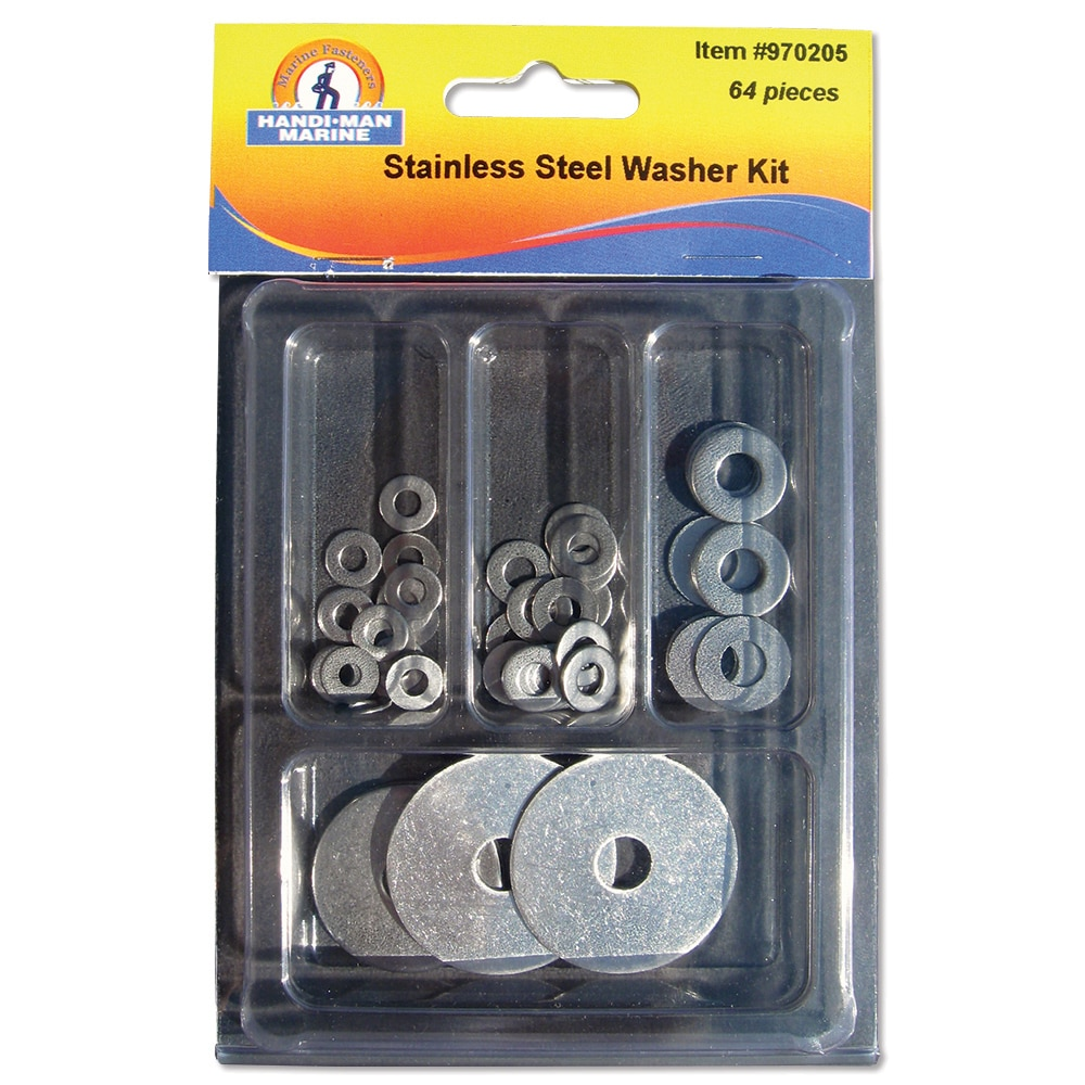 Handi-Man Assorted Washer Kit - 64 Pieces - 970205