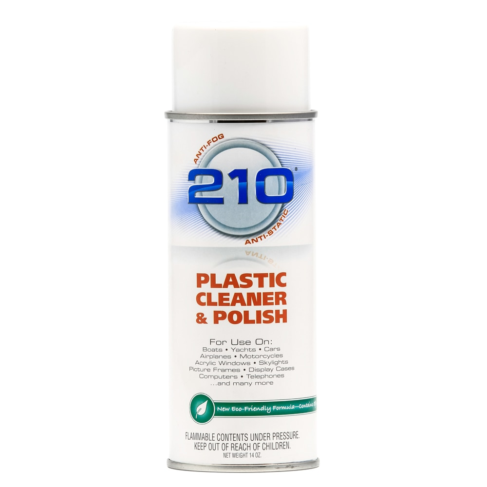 Camco 210 Plastic Cleaner Polish 14oz Spray - 40934