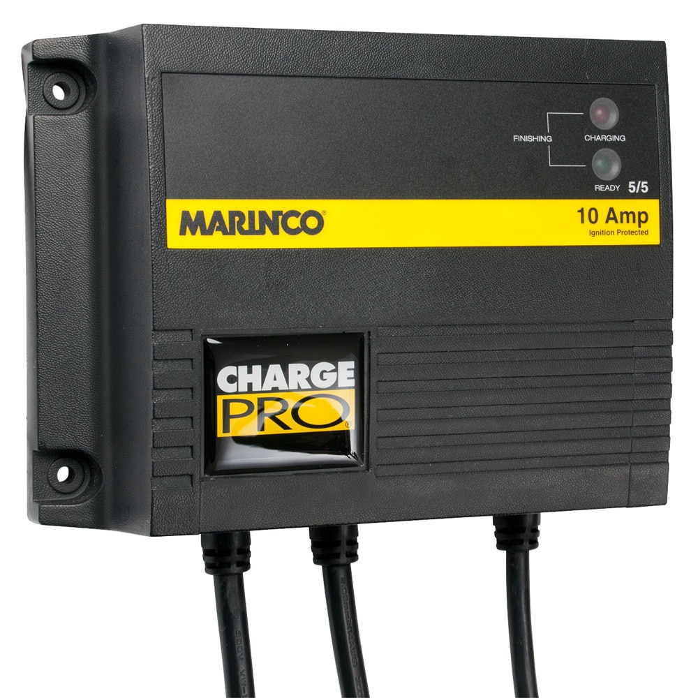 Marinco 10A On-Board Battery Charger - 12/24V - 2 Banks - 28210