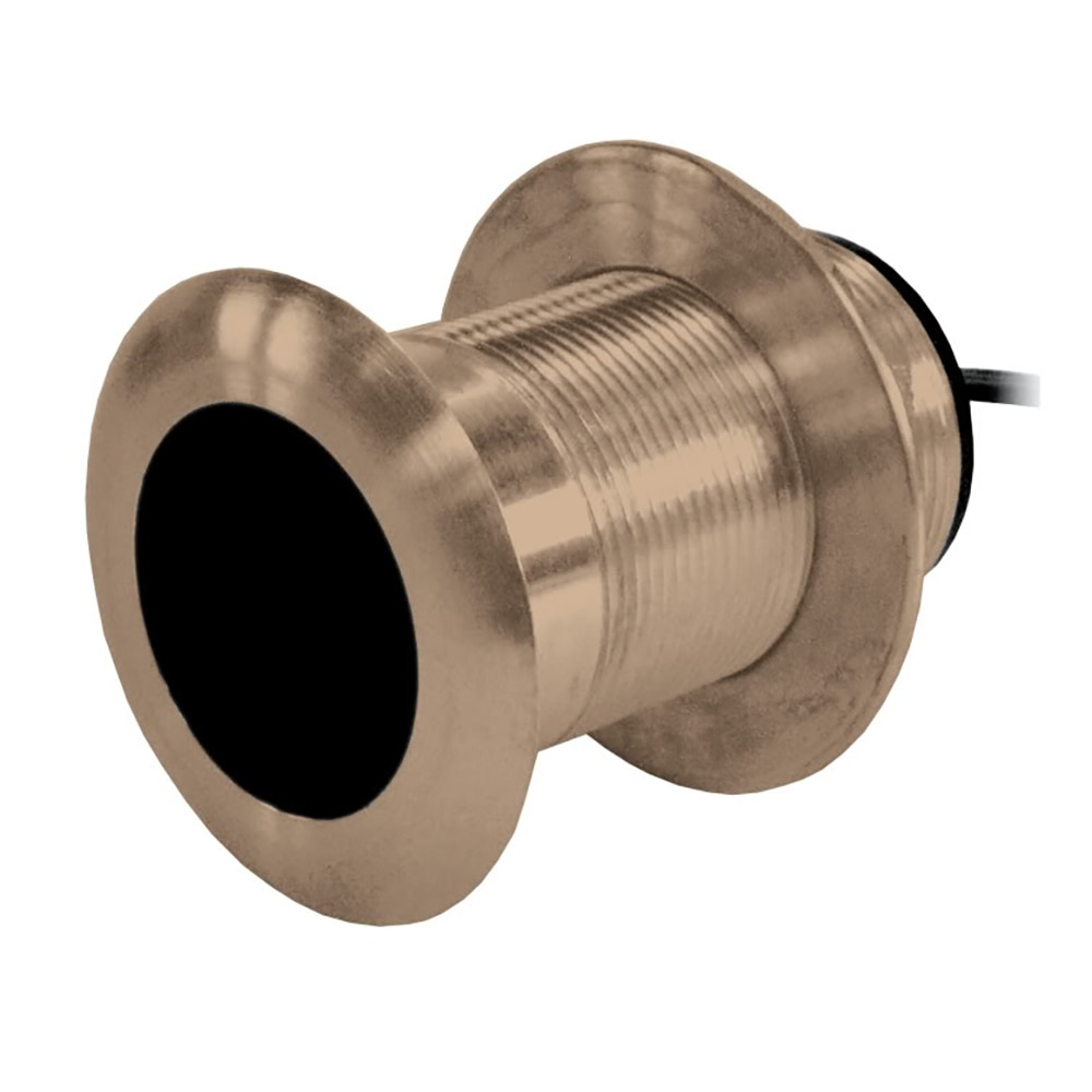 Airmar B117 Bronze Thru-Hull Transducer with Humminbird #9 Plug - 7-Pin - B117-DT-HB