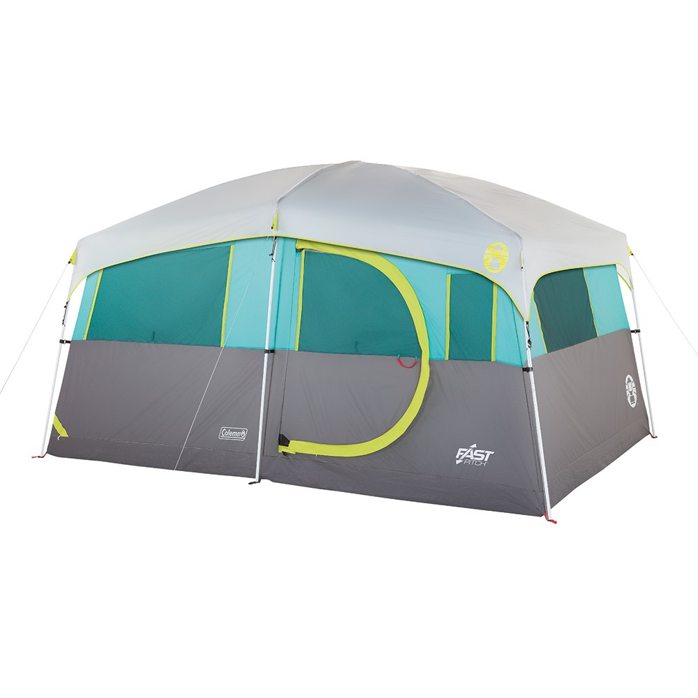 Coleman Tenaya Lake Lighted Fast Pitch 8-Person Cabin with Closet - 2000029969