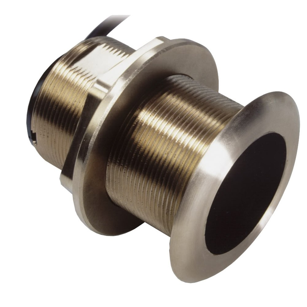 Airmar B60 Bronze Thru-Hull Transducer with Humminbird #9 Plug - 7-Pin - 12º - B60-12-HB