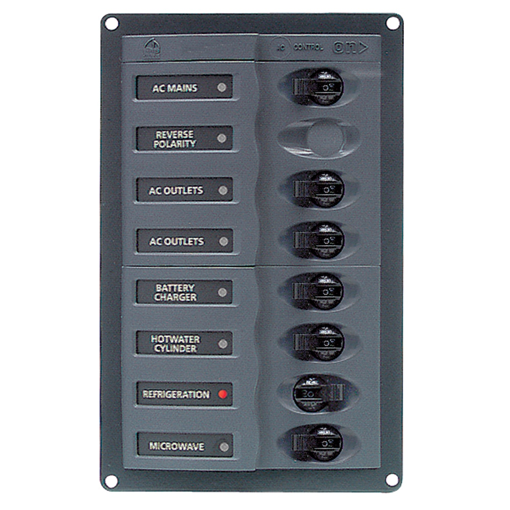 bep ac circuit breaker panel without meters 6 way with. Black Bedroom Furniture Sets. Home Design Ideas