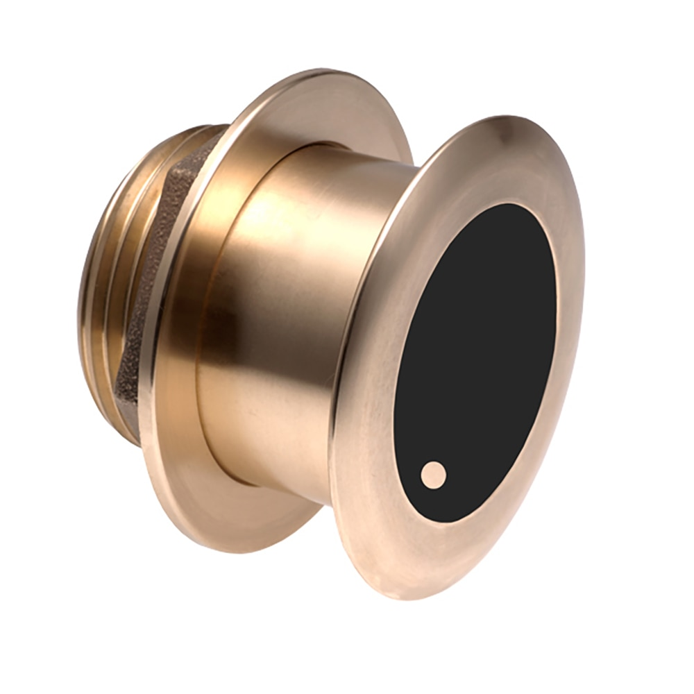 Airmar B164 Bronze Thru-Hull Transducer with Humminbird  - 14-Pin Plug - 20° - B164-20-14HB