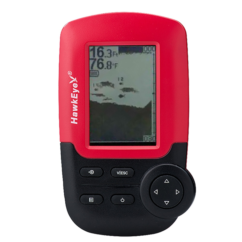 HawkEye FishTrax 1X Kayak Dot Matrix Portable Fish Finder - FT1PX