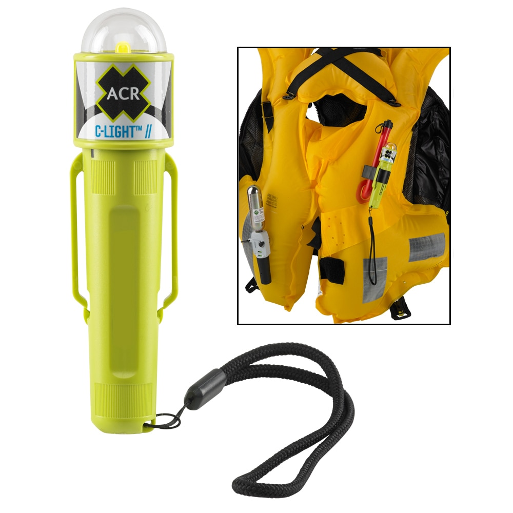 ACR C-Light - Manual Activated LED PFD Vest Light with Clip - 3963.1