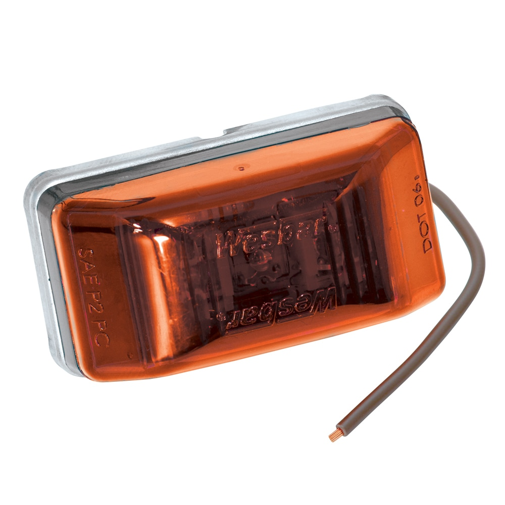 Wesbar LED Clearance-Side Marker Light #99 Series - Amber - 401565