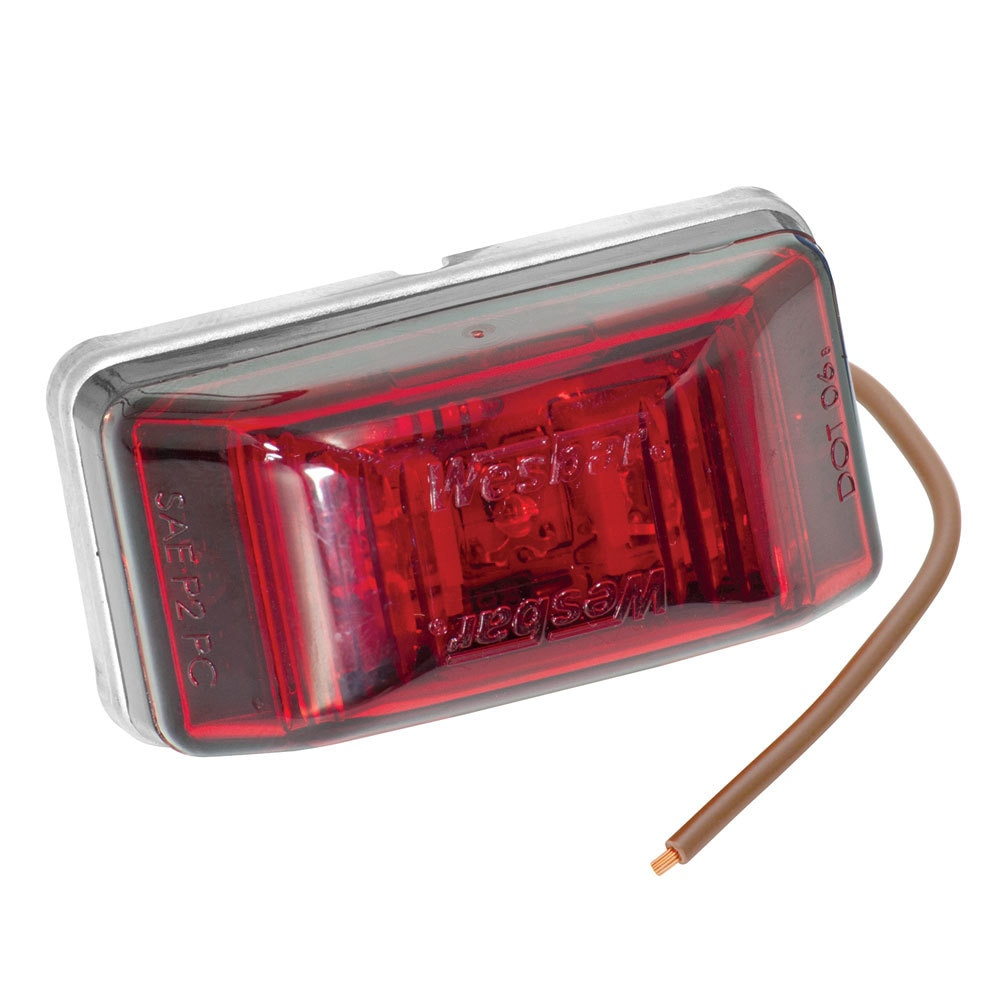 Wesbar LED Clearance-Side Marker Light #99 Series - Red - 401566