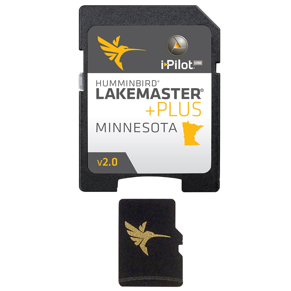 Humminbird LakeMaster Minnesota PLUS - Version 2.0 - MicroSD/SD - 600021-6