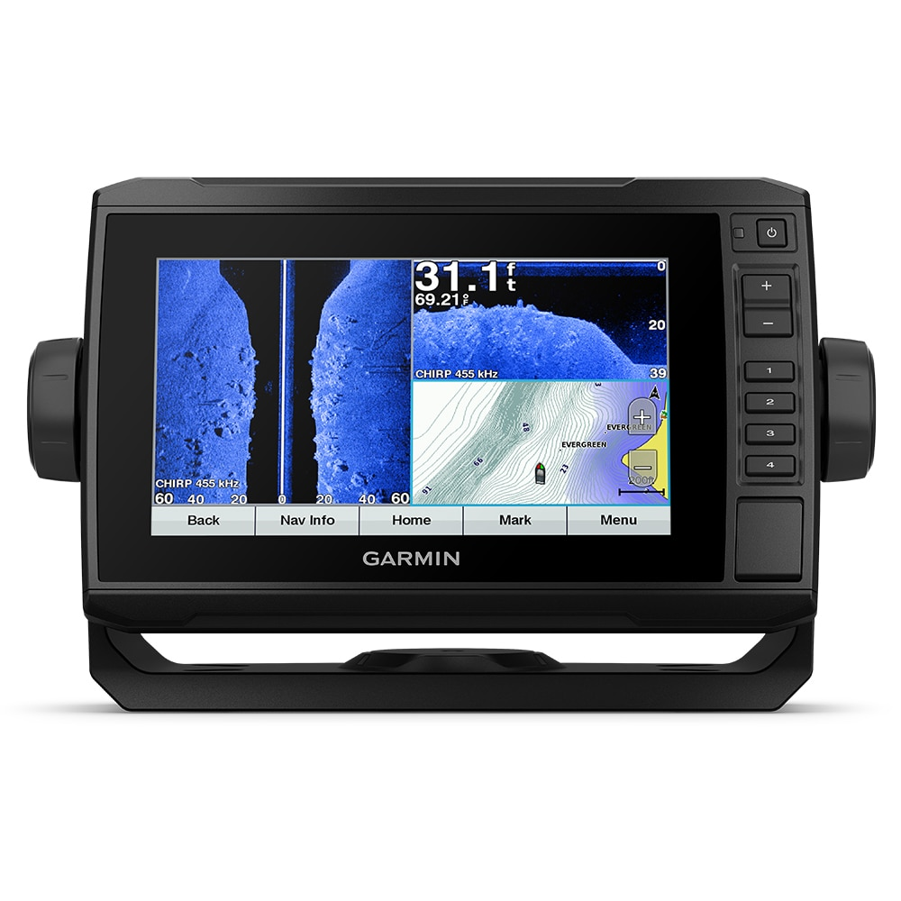 Garmin echoMAP CHIRP Plus 72sv with Worldwide Basemap without Transducer - 010-01896-00