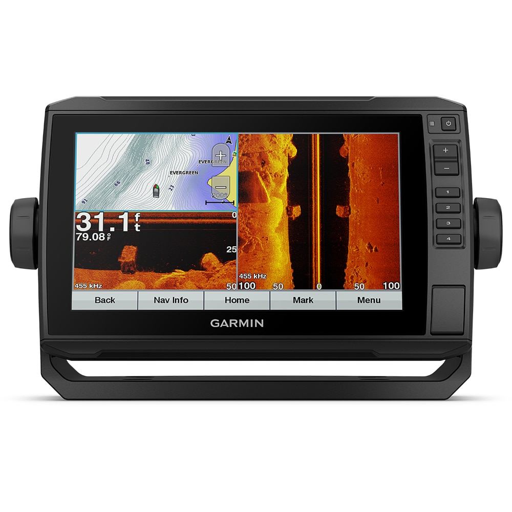 Garmin echoMAP CHIRP Plus 92sv with Worldwide Basemap without Transducer - 010-01900-00