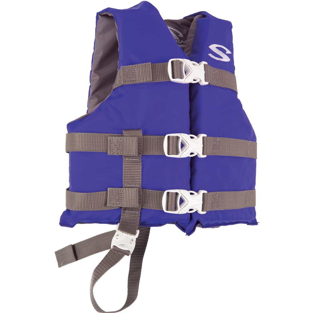 Stearns Classic Child Life Jacket - 30-50lbs - Blue/Grey - 3000004471