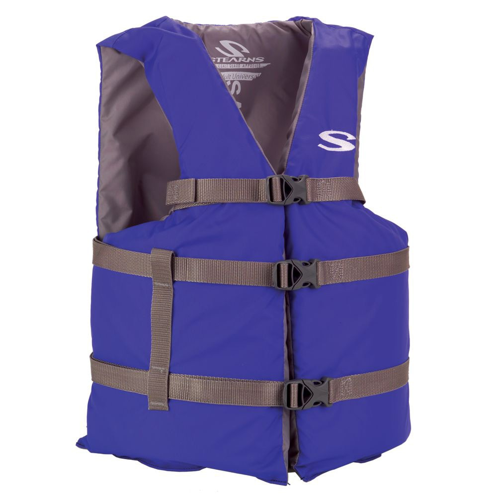Stearns Classic Series Adult Universal Life Vest - Blue/Grey - 3000004475