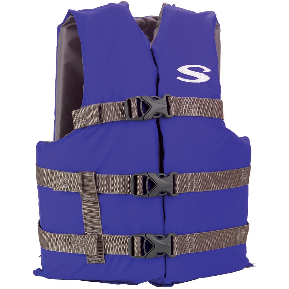 Stearns Classic Youth Life Jacket f/50-90lbs - Blue/Grey - 3000004473