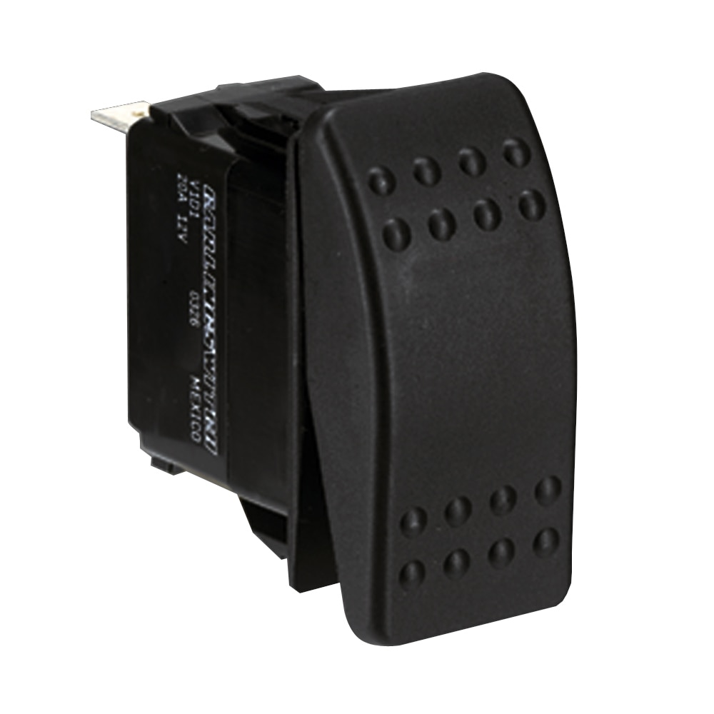Paneltronics Switch DPDT Black On/Off/On Waterproof Rocker - 001-699