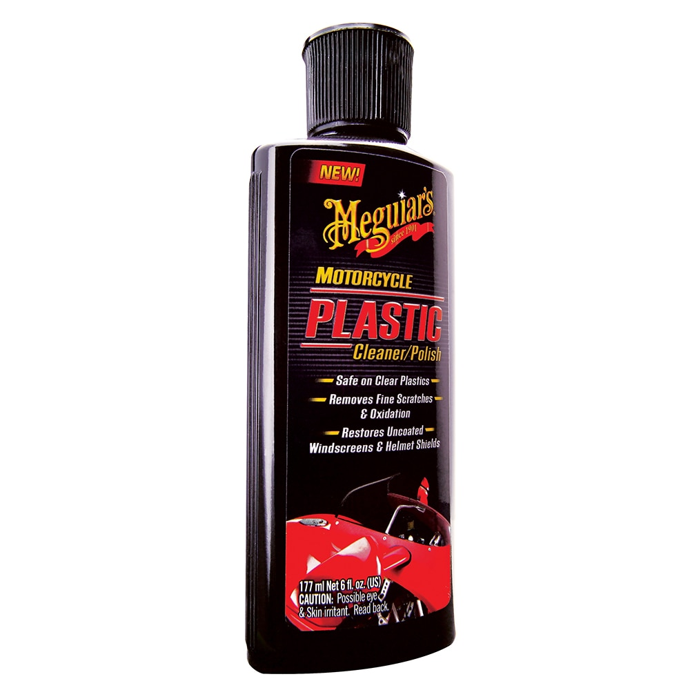 Meguiar's Motorcycle Plastic Polish/Cleaner - MC20506