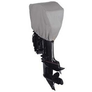 Dallas Manufacturing Co. Motor Hood Polyester Cover 1 - 2.5 hp - 10 hp, 4 Strokes Or 2 Strokes Up To 25 hp - BC31021
