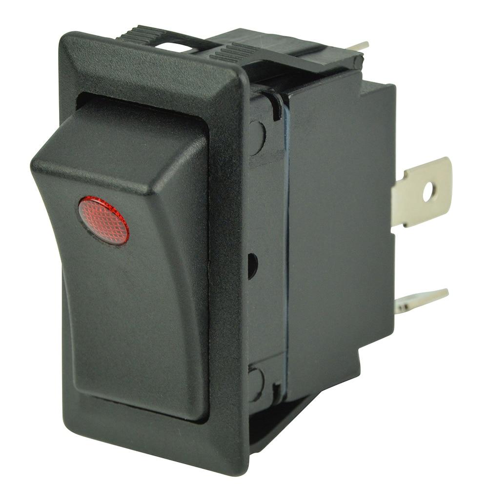 BEP SPST Rocker Switch - 1-LED - 12V/24V - ON/OFF - 1001714