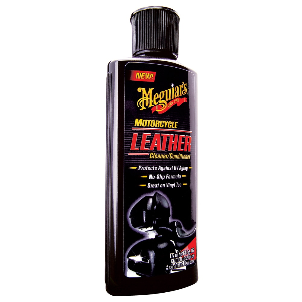 Meguiar's Motorcycle Vinyl & Leather Cleaner & Conditioner - MC20306