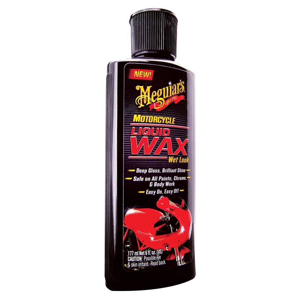 Meguiar's Motorcycle Liquid Wax - Wet Look - MC20206