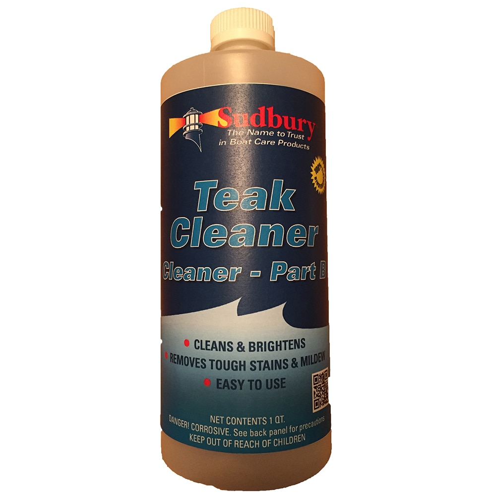 Sudbury Teak Cleaner Part B - Quart - 862Q