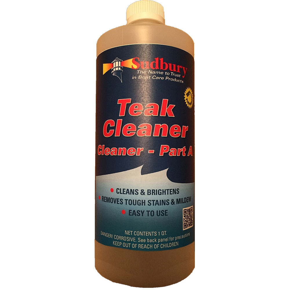Sudbury Teak Cleaner Part A  Quart - 861Q