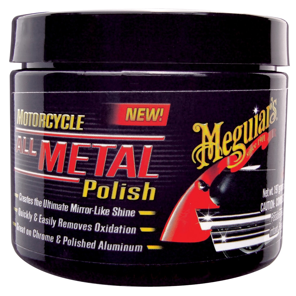 Meguiar's Motorcycle All Metal Polish - MC20406