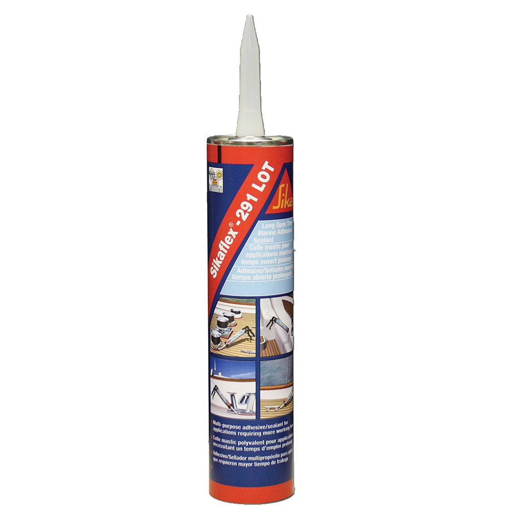 Sika Sikaflex 291 LOT Slow Cure Adhesive & Sealant 10.3oz(300ml) Cartridge - White - 90925