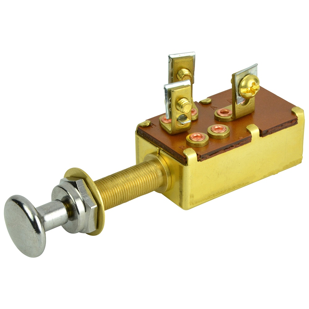 BEP 3-Position SPDT Push-Pull Switch - Off/ON1/ON2 - 1001304