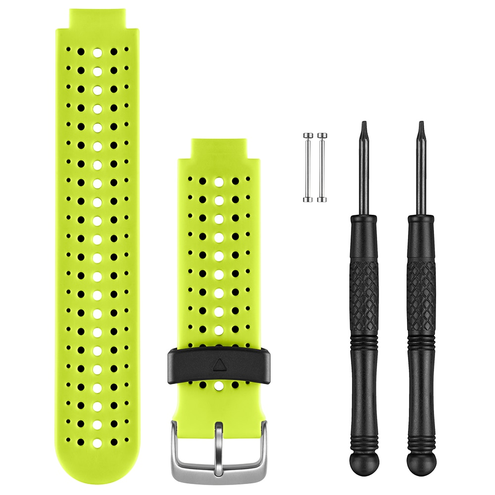 Garmin Replacement Watch Bands - Force Yellow Silicone - 010-11251-83