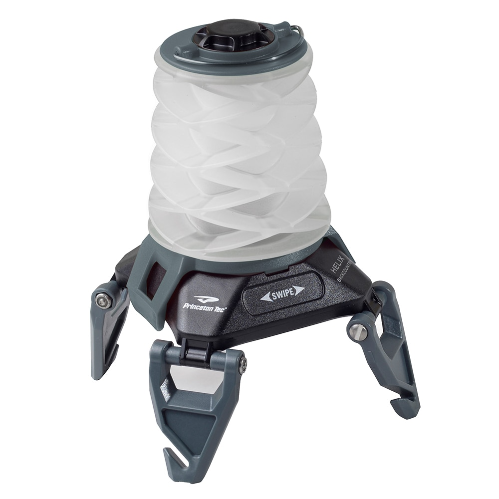 Princeton Tec Helix Backcountry Rechargeable Lantern - Black/Green - HX1-RC-BK