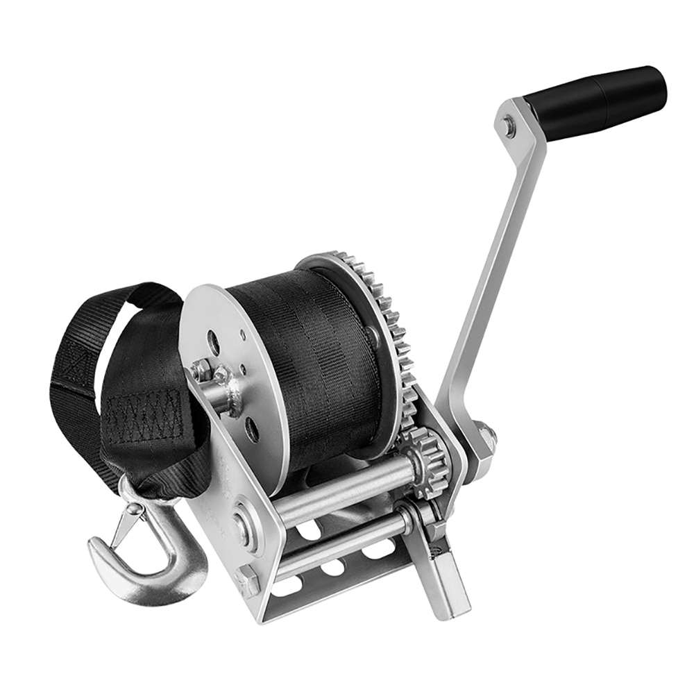 Fulton 900lb Single Speed Winch w/12' Strap f/Personal Watercraft - 142006