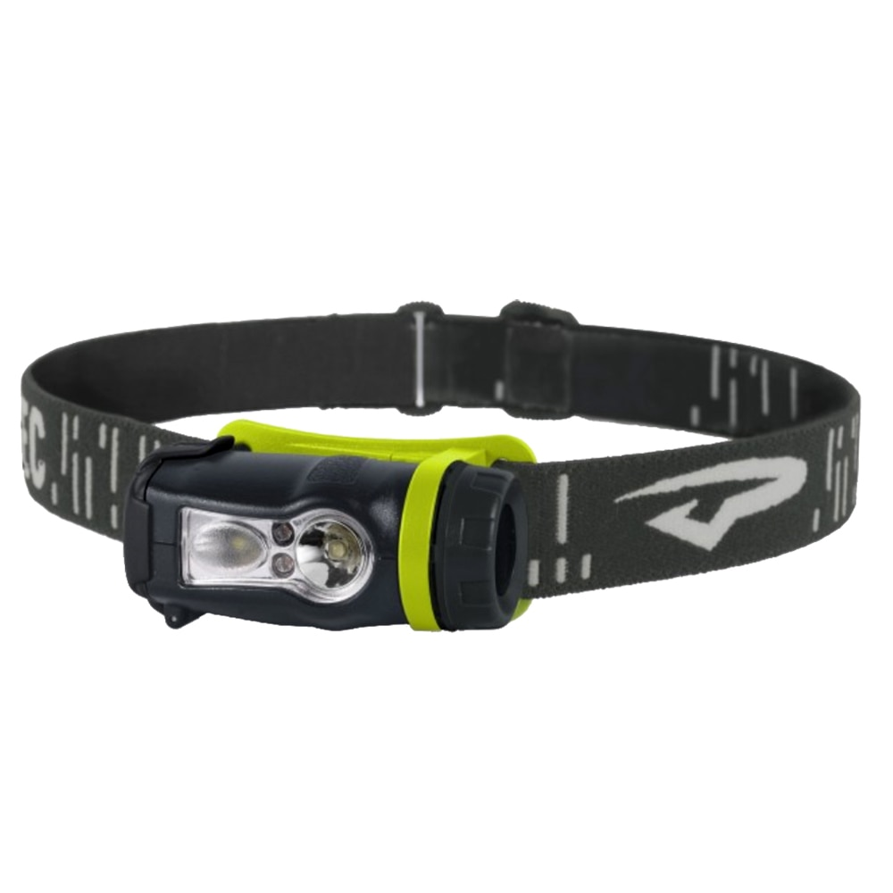 Princeton Tec Axis Rechargeable LED HeadLamp - Green/Grey - AXRC-GR