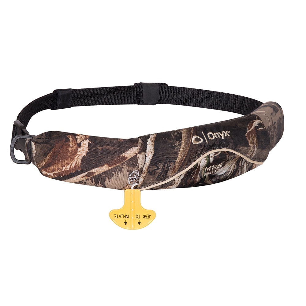 Onyx M-16 Manual Inflatable Belt Pack - Camo - 130900-812-004-17