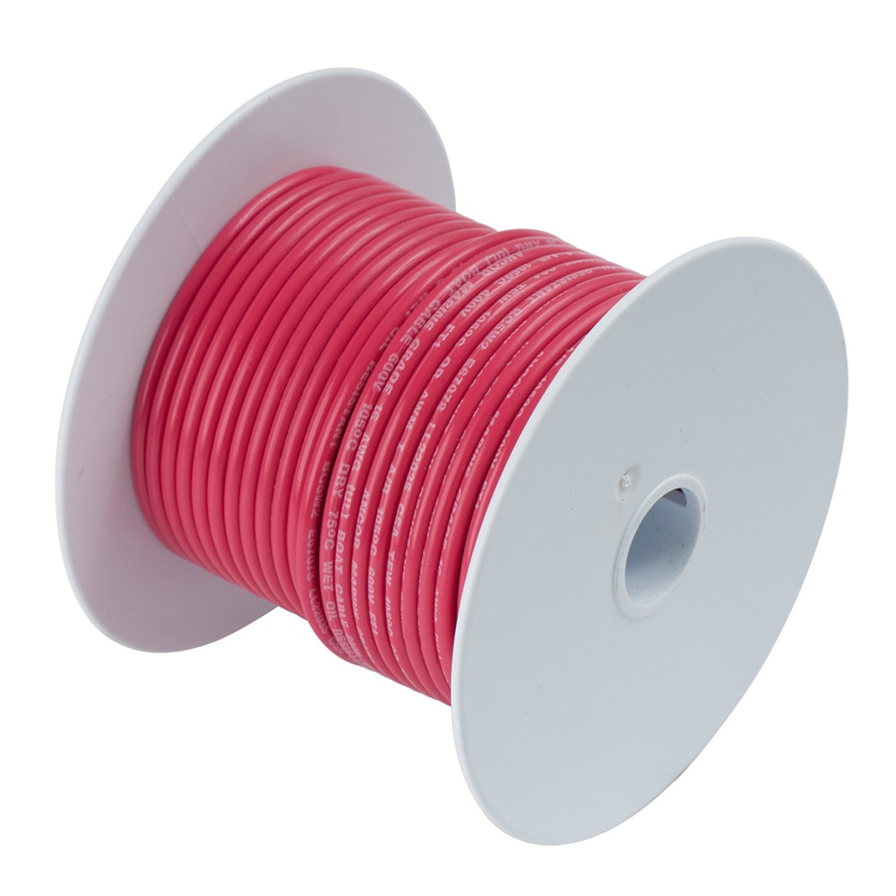 Ancor Red 1/0 AWG Tinned Copper Battery Cable - 25' - 116502