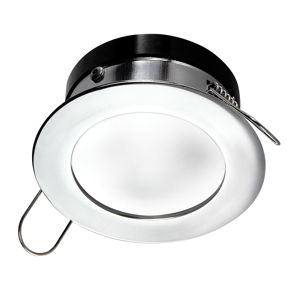 i2Systems Apeiron Pro Recessed LED - Tri-Color - Cool White/Red/Blue - 3W Dimming - Round Bezel - Chrome Finish - A503-11AAG-HE