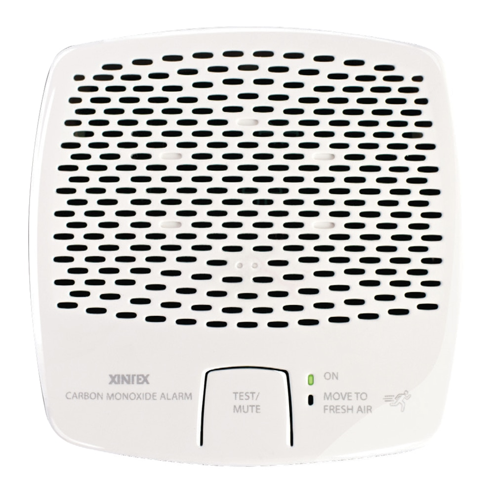 Xintex Carbon Monoxide Alarm - Battery Operated w/Interconnect - White - CMD5-MBI-R