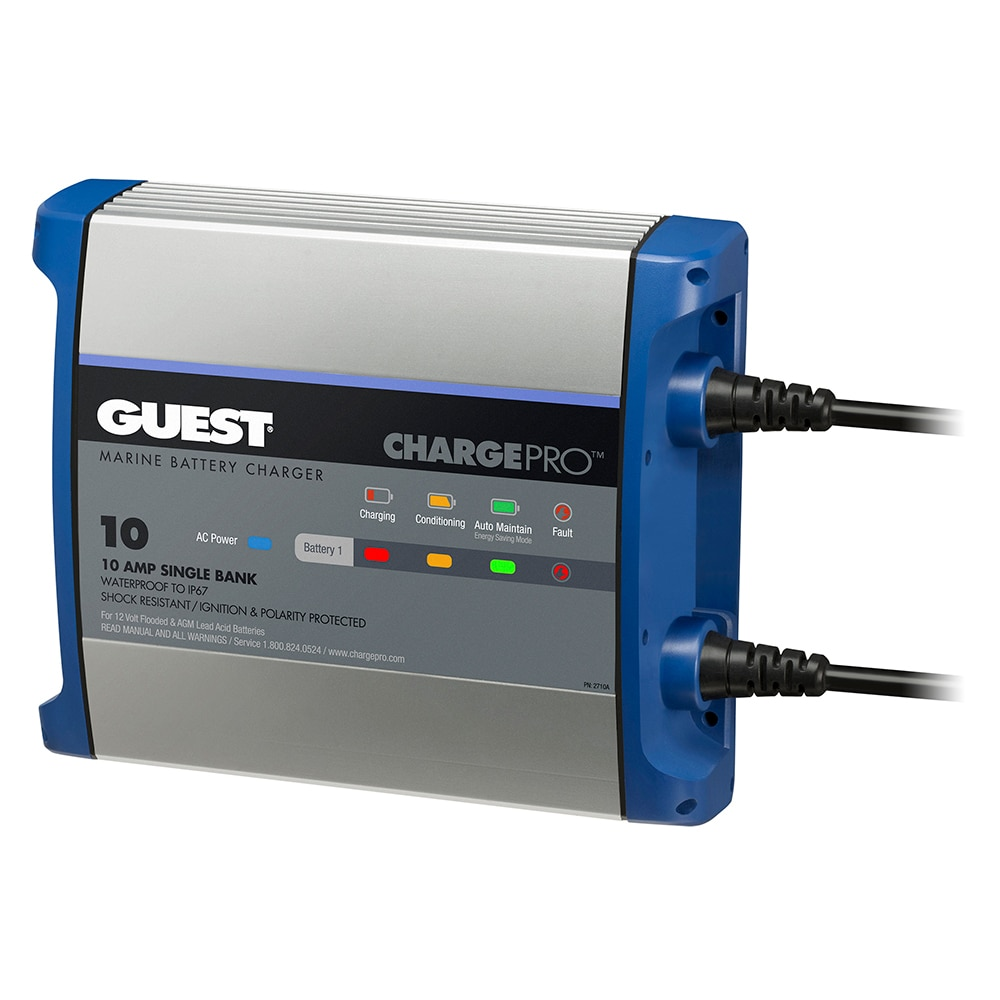 Guest On-Board Battery Charger 10A / 12V - 1 Bank - 120V Input - 2710A