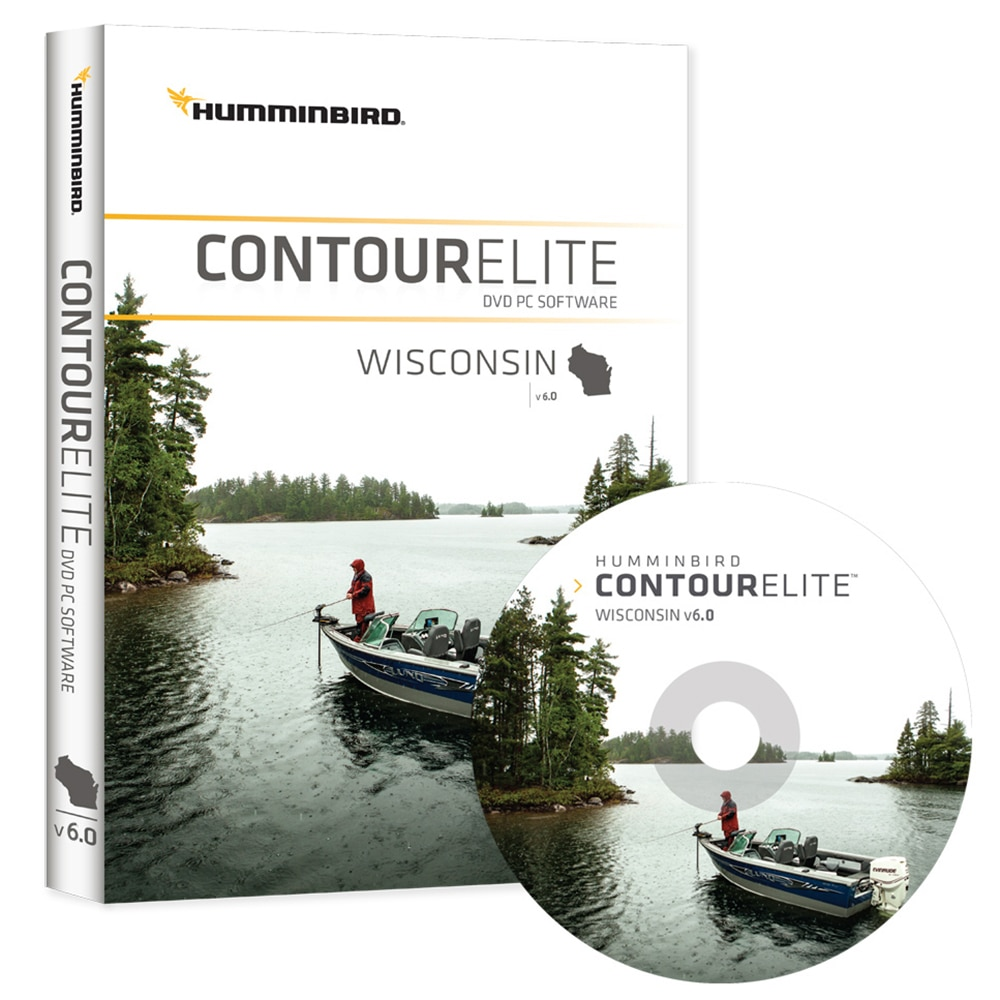 Humminbird Contour Elite - Wisconsin - Version 6 - 600026-4