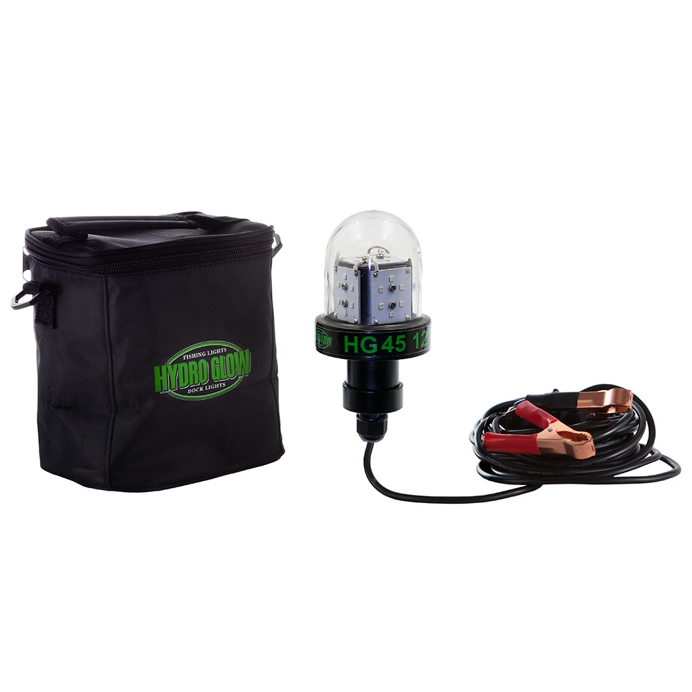 Hydro Glow HG45 45W/12V Deep Water LED Fish Light - Green Globe Style - HG45