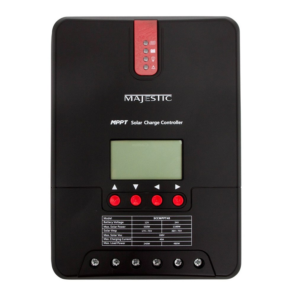 Majestic MPPT Solar & Wind Charge Controller - 40 Amp - SCCMPPT40